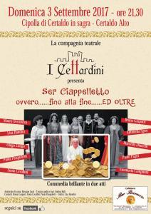 Locandina di Ser Ciappelletto ovvero ..... fino alla fine .... ed oltre